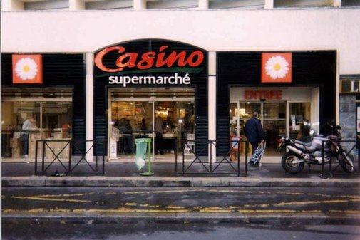 Casino Supermarchés Paris La-Pompe