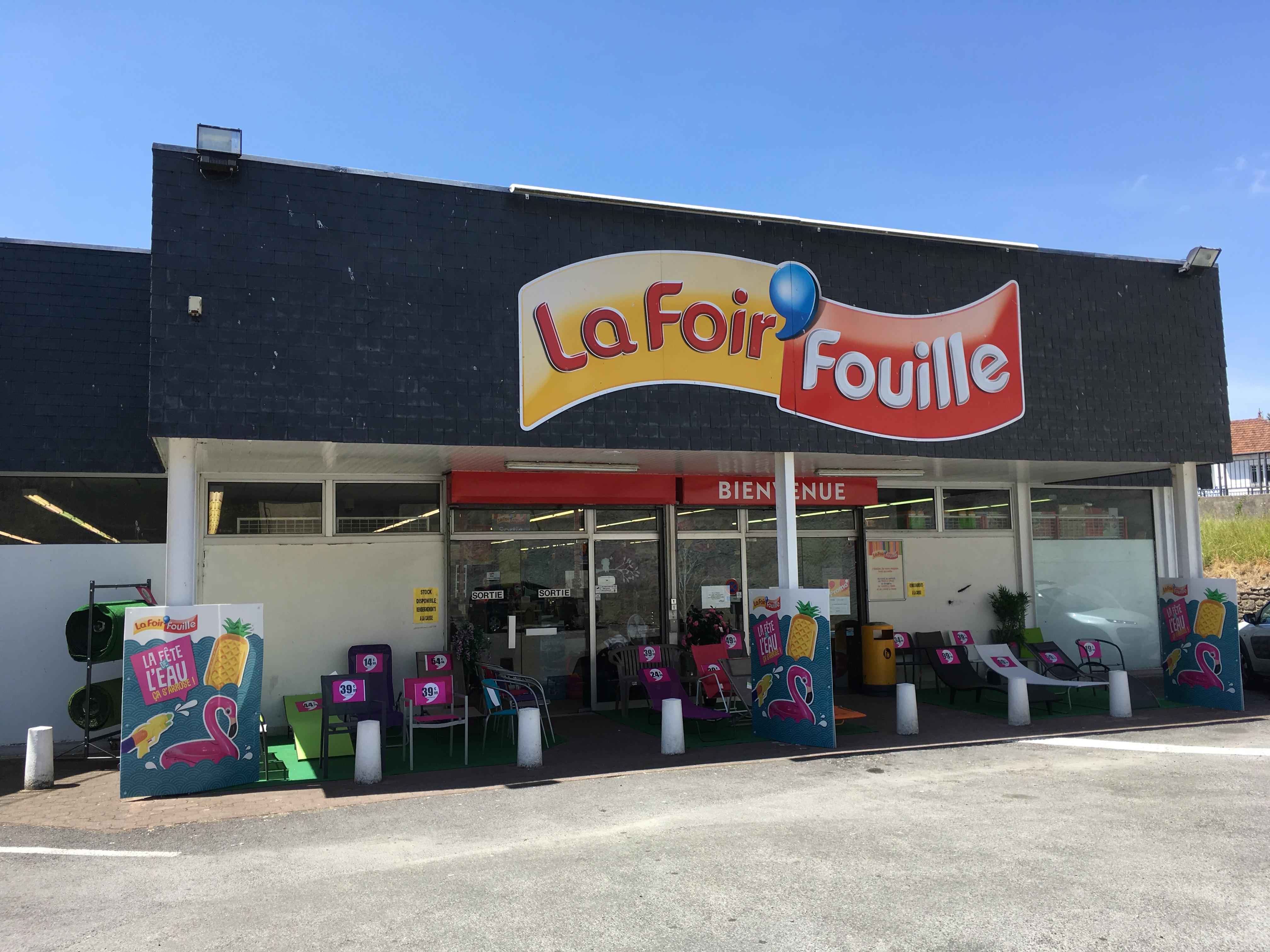 Lieu de vente La Foir'Fouille